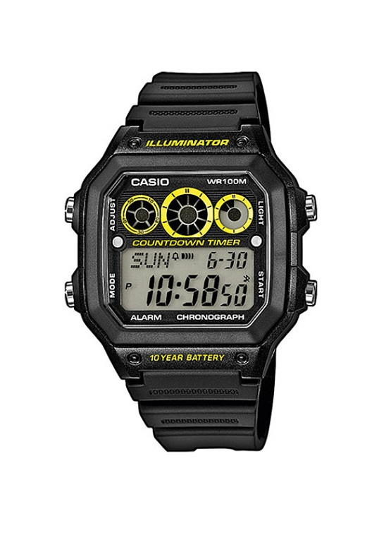Мъжки часовник Casio Collection AE-1300WH-1AVEF