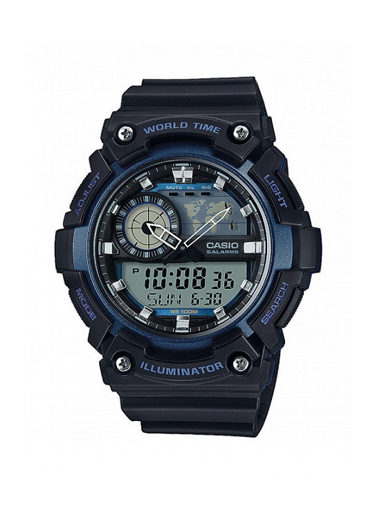 Мъжки часовник Casio Collection AEQ-200W-2AVEF