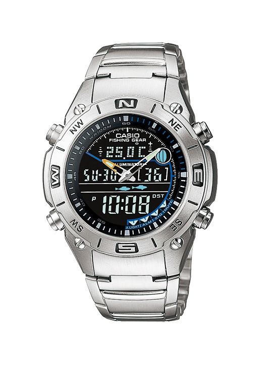 Мъжки часовник Casio Fishing Gear AMW-703D-1AV