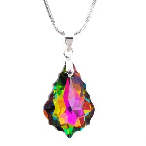 Колие Crystal Pro® Baroque Vitrail Medium с кристали Swarovski®