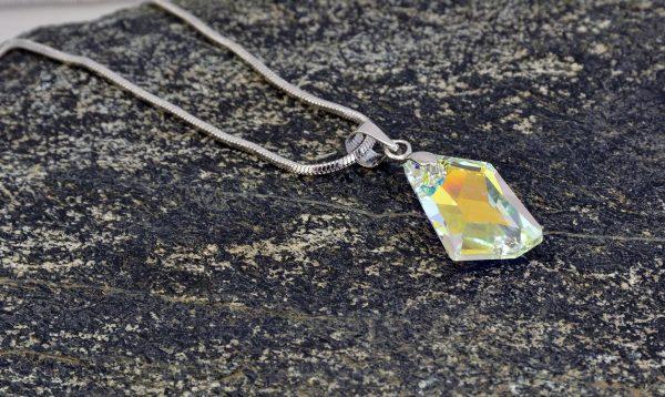Колие Cosmiс Aurore Boreale Crystal Pro® с кристали Swarovski®