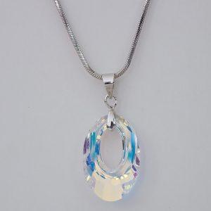 Колие Crystal Pro® Helios Aurore Boreale с кристали Swarovski®