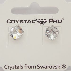 Дамски обеци Cube Crystal