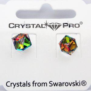 Дамски обеци Cube Vitrail Medium