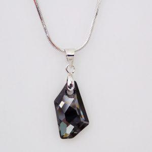 Колие De Art Silver Night Crystal Pro® с кристали Swarovski®