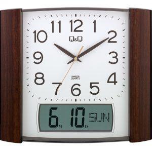 Стенен часовник Q&Q 0257K500Y