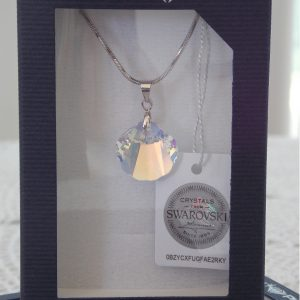 Колие Crystal Pro® Seashell Aurore Boreale с кристали Swarovski®