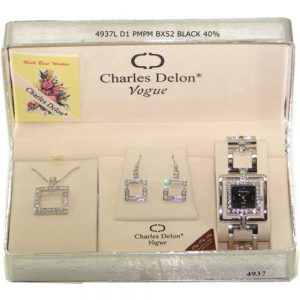 Дамски часовник CHD-493701 в комплект с колие и гривна