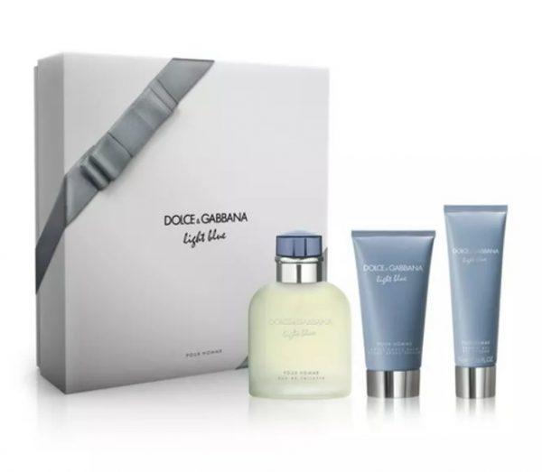 D&G Light Blue pour homme мъжки подаръчен комплект