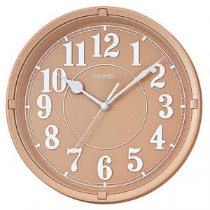 Стенен часовник CASIO IQ-62-5 в кафяв цвят от Juel.bg