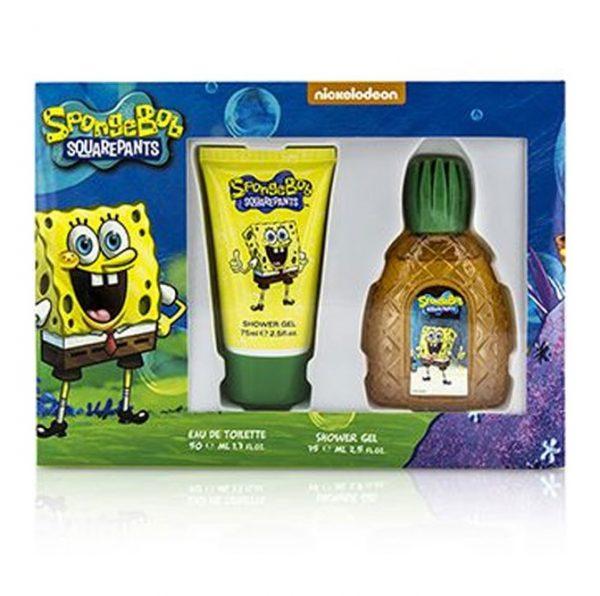 комплект Spongebob Squarepants Spongebob EDT 50 ml + душ гел 75 ml