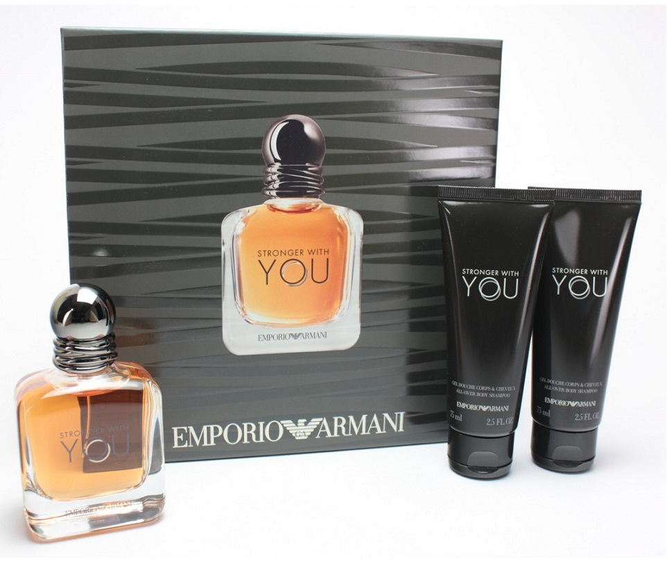 Мъжки комплект Stronger With You EdT 100 ml и 2 x душ гел 75 ml