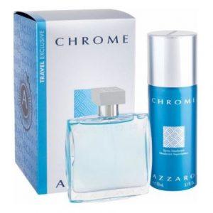 Подарчен комплект Azzaro Chrome
