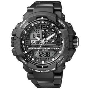 Мъжки часовник Q&Q GW86J001Y черен