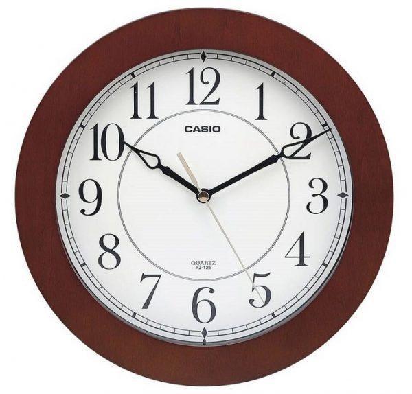 Стенен часовник CASIO IQ-126-5DF