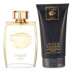 Мъжки комплект Lalique pour Homme EDP 125ml, душ гел 150ml.