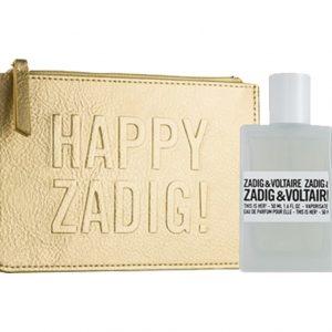 Дамски комплект Zadig&Voltaire This Is Her! EdP 50 ml + Happy Zadig! несесер