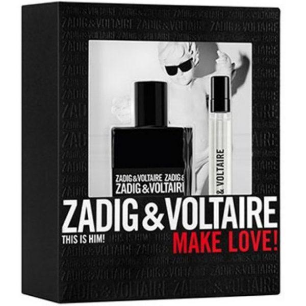 Мъжки комплект Zadig&Voltaire This Is Him! EDT 50 ml +мини EDT 10 ml