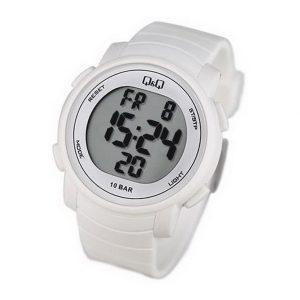 Унисекс часовник Q&Q M122J002Y , бял цвят
