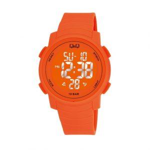 Унисекс часовник Q&Q M122J008Y , оранжев