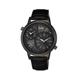Мъжки часовник Q&Q QZ22J505Y в черен цвят