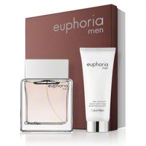 Мъжки комплект Calvin Klein Euphoria EDT 50 ml и душ гел 100 ml