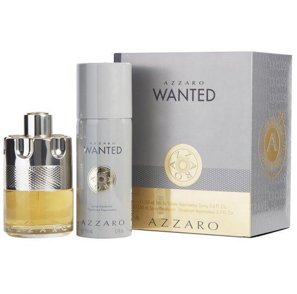 Мъжки комплект Azzaro Wanted EDT 100мл и дезодорант спрей 150мл