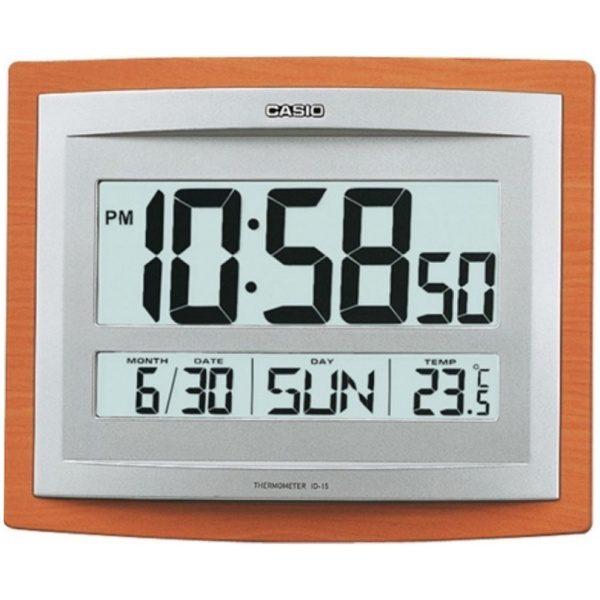 Стенен / настолен часовник CASIO ID-15S-5