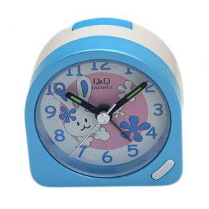 Детски будилник Q&Q 0281GS06Y в синьо и розово