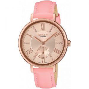 Дамски часовник CASIO SHEEN SWAROVSKI EDITION - SHE-3066PGL-4AUEF