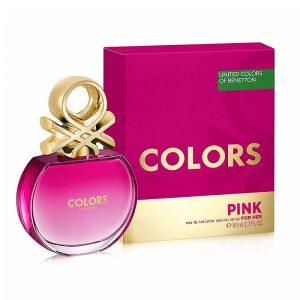 Дамски парфюм Benetton UCB Colors de Benetton Pink for Her EDT