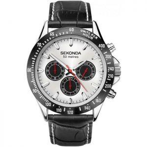 Мъжки часовник Sekonda Dual-Time Chronograph - S-1647E.00