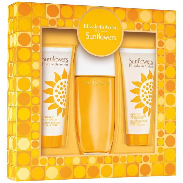 Дамски подаръчен комплект Elizabeth Arden Sunflowers EDT