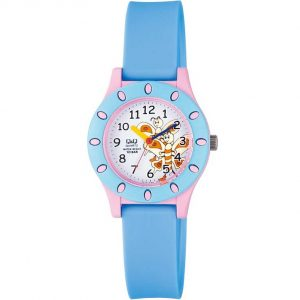 Детски аналогов часовник Q&Q - VQ13J006Y