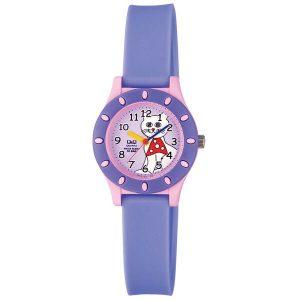 Детски аналогов часовник Q&Q - VQ13J010Y