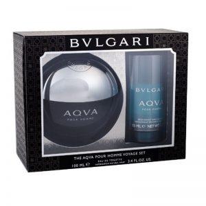 Мъжки подаръчен комплект Bvlgari Aqva EDT