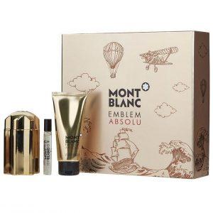 Мъжки подаръчен комплект Mont Blanc Emblem Absolu EDT