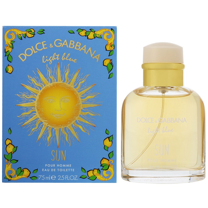 Мъжки парфюм Dolce&Gabbana Light Blue Sun EDT 2019