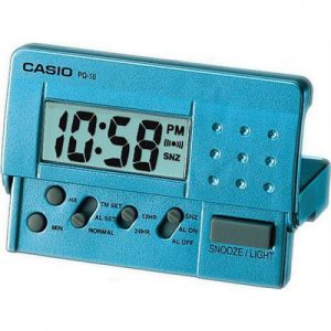 Дигитален будилник CASIO - PQ-10D-2R