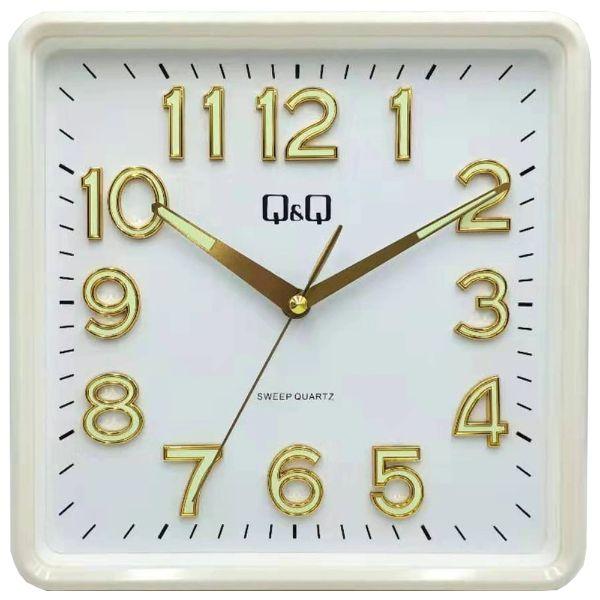 Стенен часовник Q&Q 0309H502Y с бял корпус