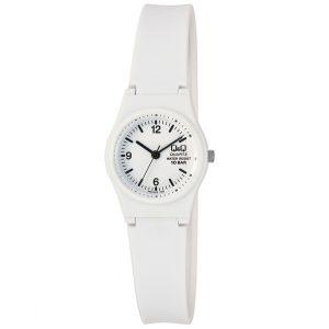 Детски часовник Q&Q - VP47J012Y бял цвят