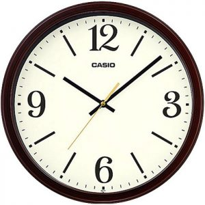 Стенен часовник Q&Q 0309H503Y с червен корпус