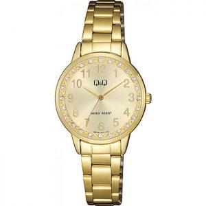 Дамски аналогов часовник Q&Q - QB09J003Y