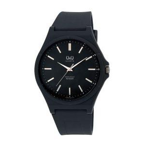 Мъжки часовник Q&Q - VQ66J002Y, черен спортен