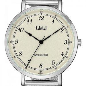Мъжки аналогов часовник Q&Q - QA20J244Y с метална верижка