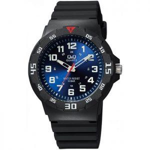 Мъжки часовник Q&Q - VR18J005Y спортен, с полимерна каишка