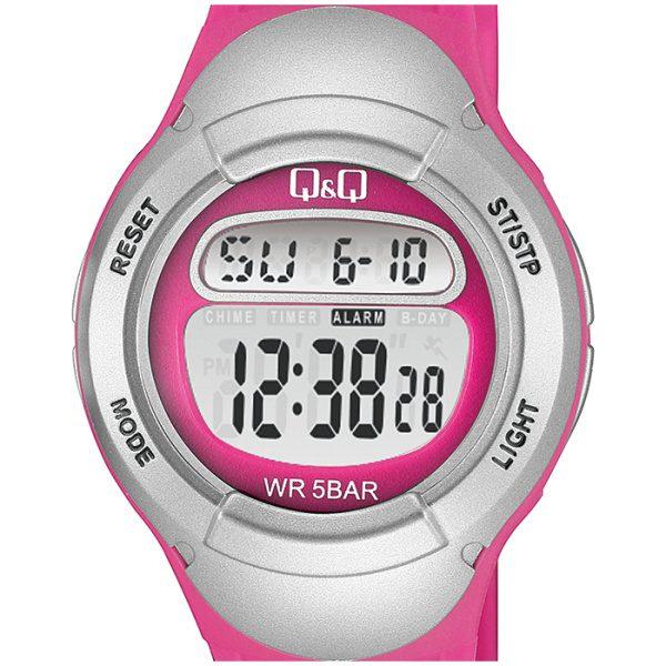 Детски дигитален часовник Q&Q – M194J005Y, розов