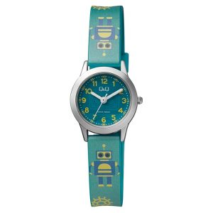 Детски аналогов часовник Q&Q - QC29J335Y