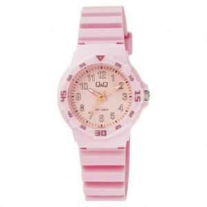 Дамски спортен часовник Q&Q - VR19J017Y, розов