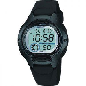 Детски часовник CASIO - LW-200-1BVDF, дигитален, черен